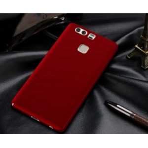 Coque De Protection Rigide Rouge Pour Huawei Honor V8 Max