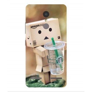Coque De Protection Amazon Starbucks Pour Lenovo K6