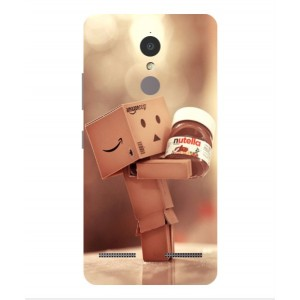 Coque De Protection Amazon Nutella Pour Lenovo K6