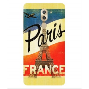 Coque De Protection Paris Vintage Pour Huawei Mate 9 Lite