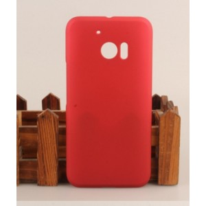 Coque De Protection Rigide Rouge Pour HTC 10 Lifestyle