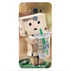 Coque De Protection Amazon Starbucks Pour Asus Zenfone 3 Max ZC553KL