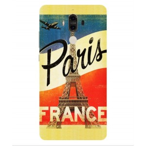 Coque De Protection Paris Vintage Pour Huawei Mate 9