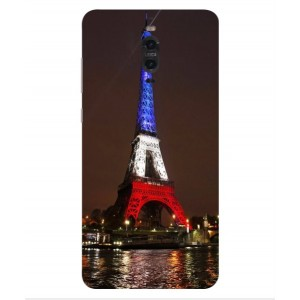 Coque De Protection Tour Eiffel Couleurs France Pour Huawei Mate 9 Porsche Design