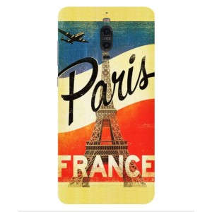 Coque De Protection Paris Vintage Pour Huawei Mate 9 Pro