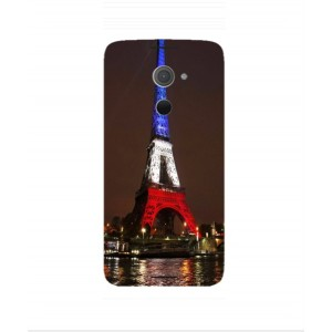 Coque De Protection Tour Eiffel Couleurs France Pour BlackBerry DTEK60