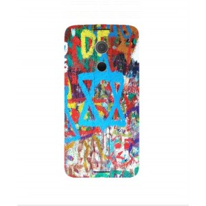 Coque De Protection Graffiti Tel-Aviv Pour BlackBerry DTEK60