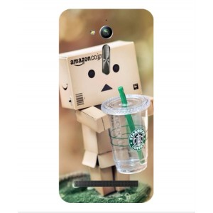 Coque De Protection Amazon Starbucks Pour Asus Zenfone Go ZB500KL