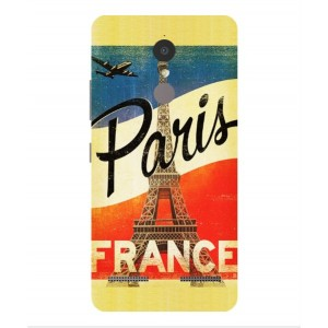 Coque De Protection Paris Vintage Pour Lenovo K6 Power