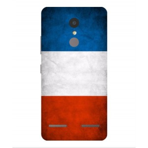 Coque De Protection Drapeau De La France Pour Lenovo K6 Power