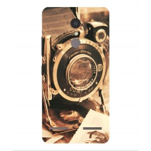 Coque De Protection Appareil Photo Vintage Pour Lenovo K6 Power