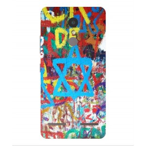 Coque De Protection Graffiti Tel-Aviv Pour Lenovo K6 Power