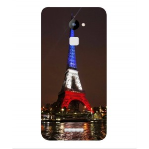 Coque De Protection Tour Eiffel Couleurs France Pour Coolpad Note 3