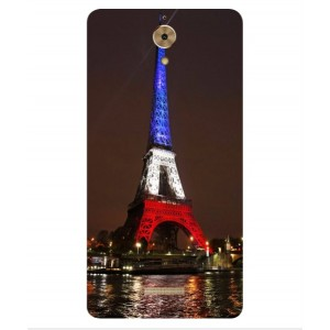Coque De Protection Tour Eiffel Couleurs France Pour Coolpad Mega
