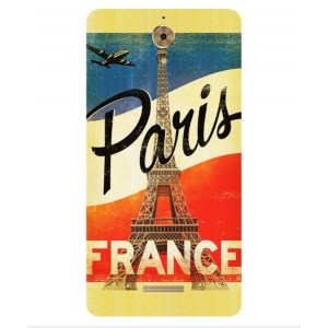 Coque De Protection Paris Vintage Pour Coolpad Mega