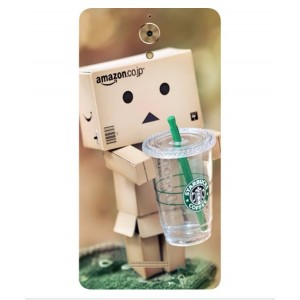 Coque De Protection Amazon Starbucks Pour Coolpad Mega
