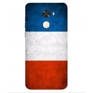 Coque De Protection Drapeau De La France Pour Coolpad Cool S1