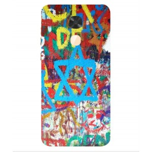 Coque De Protection Graffiti Tel-Aviv Pour Coolpad Cool S1