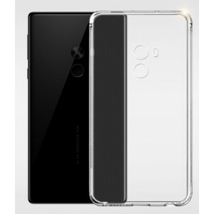 Coque De Protection En Silicone Transparent Pour Xiaomi Mi Mix
