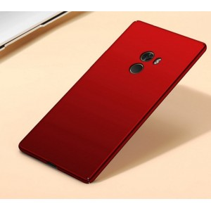 Coque De Protection Rigide Rouge Pour Xiaomi Mi Mix