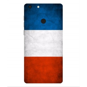 Coque De Protection Drapeau De La France Pour Archos 55 Diamond Selfie