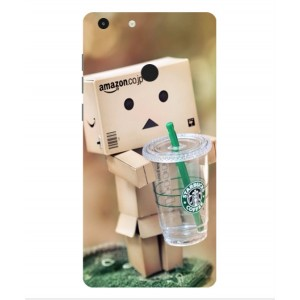 Coque De Protection Amazon Starbucks Pour Archos 55 Diamond Selfie