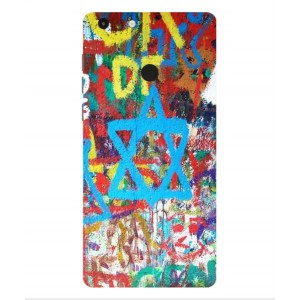 Coque De Protection Graffiti Tel-Aviv Pour Archos 55 Diamond Selfie