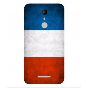 Coque De Protection Drapeau De La France Pour Coolpad Torino S
