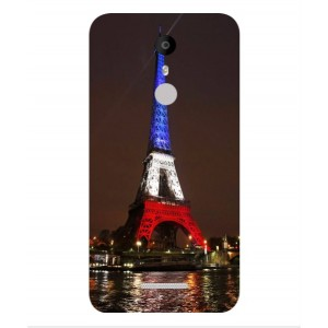Coque De Protection Tour Eiffel Couleurs France Pour Coolpad Torino S