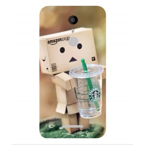 Coque De Protection Amazon Starbucks Pour Coolpad Torino S