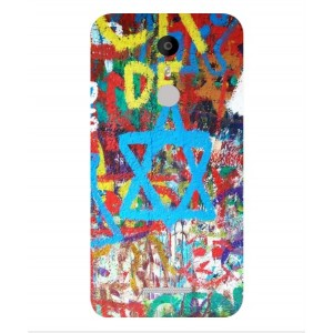 Coque De Protection Graffiti Tel-Aviv Pour Coolpad Torino S