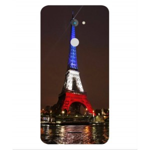 Coque De Protection Tour Eiffel Couleurs France Pour Coolpad Torino