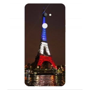 Coque De Protection Tour Eiffel Couleurs France Pour Coolpad Note 3s