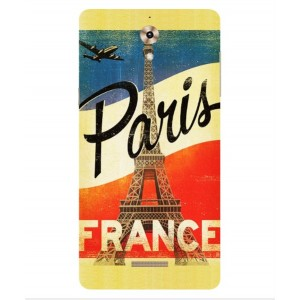 Coque De Protection Paris Vintage Pour Coolpad Modena 2