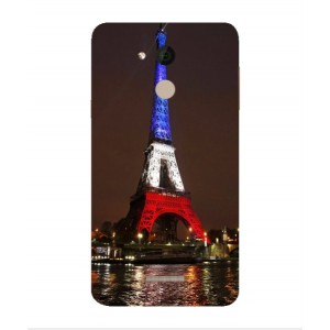 Coque De Protection Tour Eiffel Couleurs France Pour Coolpad Note 5