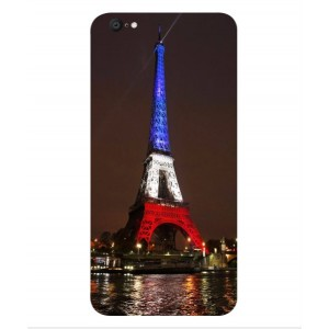 Coque De Protection Tour Eiffel Couleurs France Pour Vivo X9 Plus