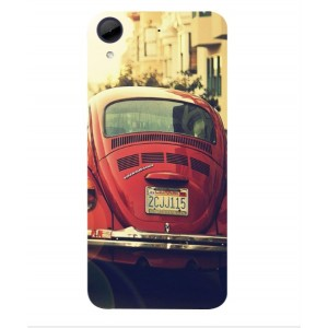 Coque De Protection Voiture Beetle Vintage HTC Desire 650