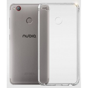 Coque De Protection En Silicone Transparent Pour ZTE Nubia Z11 Mini S