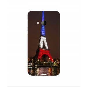 Coque De Protection Tour Eiffel Couleurs France Pour HTC U Play