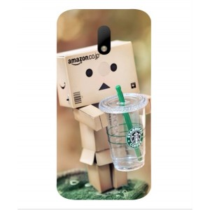 Coque De Protection Amazon Starbucks Pour Motorola Moto M