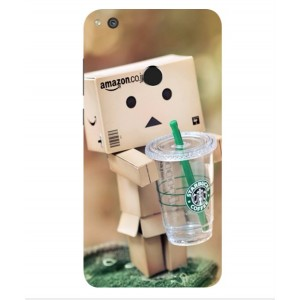 Coque De Protection Amazon Starbucks Pour Huawei P8 Lite (2017)